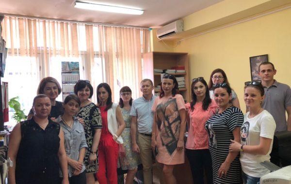 Рабочее совещание в Сочинском филиале