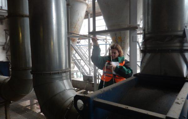 Специалисты Азово-Чероморского испытательного центра приняли участие в плановой проверке ООО «Зерновой Терминальный комплекс Тамань»