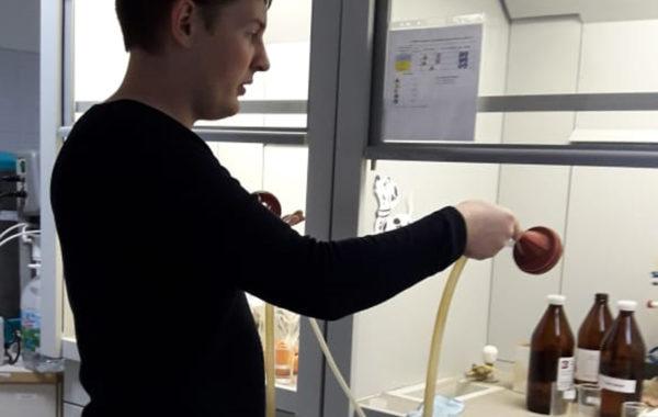 Контроль воздуха рабочей зоны НТЦ «Роснефть»