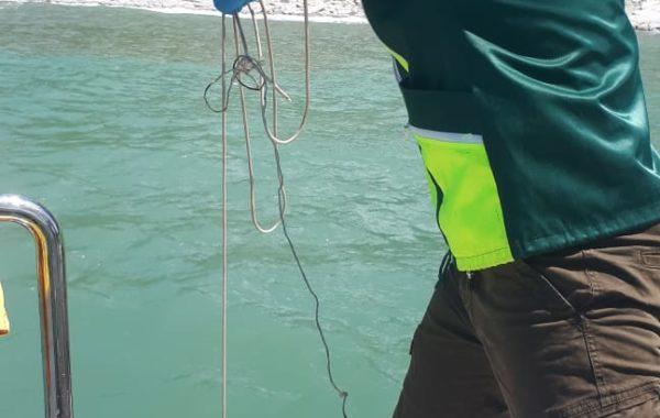 Участие  сотрудников филиала ЦЛАТИ по Краснодарскому краю в выездной проверке при возникновении ЧС в акватории Чёрного моря.