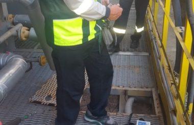 Участие сотрудников филиала ЦЛАТИ по Краснодарскому краю в выездной проверке ООО «Афипский НПЗ.